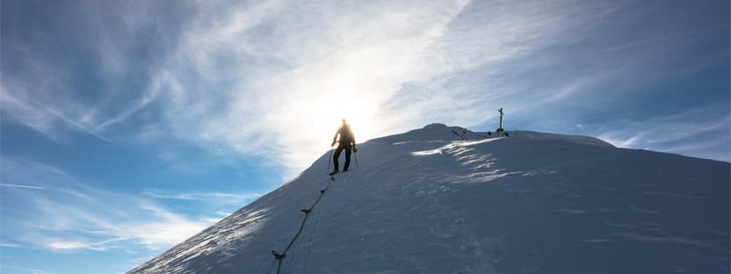 Similaun - kurz vorm Gipfel